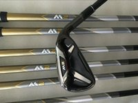 Wholesale Irons Cover - M2 Irons M2 Golf Iron Set Golf Irons Golf Clubs 4-9PS R S Flex Graphite Shaft With Head Cover