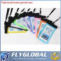 Wholesale Dirtproof Water Proof - For Universal iPhone 6 6Plus Waterproff Case Cover Dirtproof Case Dry Bag Water Proof Neck Pouch Bags For iPhone 6 6S plus Samsung Galaxy S7