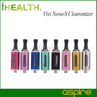 Wholesale Dual Vivi - Aspire Vivi Nova-S BDC Clearomizer 3.5ml 510 thread 100% Original Aspire Vivi Nova S BDC Clearomizer with Bottom Dual Coil