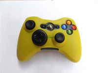 Wholesale Replacement Game Cases - Colorful Protective Skin Protective Cases for Microsoft Xbox 360 High Quality Silicone Cover Case Replacement for Game Controller