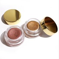 Wholesale Gold Eyeshadow Brown Eyes - Hot Kylie Jenner makeup Birthday Edition Creme Shadow Copper Rose Gold eye brown makeup eyeshadow High Quality