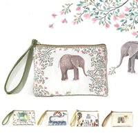 Wholesale Mobile Phone Wallet Purse - 2016 new creative cartoon cute coin purse Square mobile phone package Ladies fashion mini bags key wallet