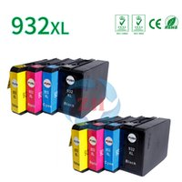 Wholesale Wholesale Laserjet Cartridges - Compatible for HP 932XL 933XL laserJet 6100 6600 printer 8 *Ink Cartridges 2*Black 2*Cyan 2*Magenta 2*Yellow