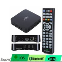Wholesale Dual Core M6 8726 - MX Android 4.2 M6 Smart TV Box 1G RAM 8G ROM Amlogic 8726-MX Cortex-A9 dual core xbmc TV BOX good for canada customer