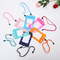 Wholesale S4 Free Case - Transparent Waterproof Swim Diving Pouch Bag case For iPhone 4 4S 5 5S 6 Plus Samsung Galaxy S6 S3 S4 S5 Free DHL