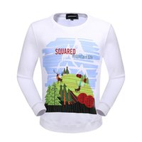 Men Pullover No 2018 New Arrived Hot Sell Men's DSQ2 Pullover Length Sleeve Hoodies Sweatshirts D2 Jacket Print Hoody Sportwear Outwear Mixed Order!