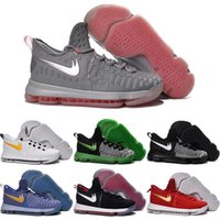 Wholesale Cheap Kd Boots - Drop Shipping Wholesale Basketball Shoes Men KD 9 Durant IX Boots Cheap Hot Sale Sneakers High Quality 2016 KD9 Sports Shoes Size 7-12