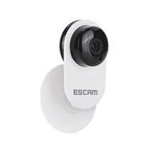 Wholesale surveillance camera lenses - ESCAM 3.6mm Lens Ant QF605 WIFI 720P P2P IP Camera Surveillance Cameras Support Android IOS For Home Company