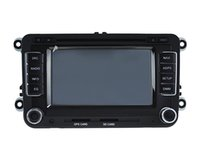 2 din auto dvd player mit wifi / aux / iphone / usb / sd / bt für VW Jetta / golf / passat / sagitar / polo