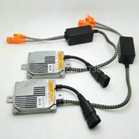 Wholesale Hid Slim 55w Ballast Replacement - 2pcs Slim Digital xenon HID ballast 55W Replacement xenon ballast 55w Electronic ballast D2S H1 H3 H4 H7 H11 9005 9006 H13