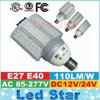 Wholesale Led Bulbs For Street Lights - 30W 40W 60W 80W 100W led street light lamp E27 E40 led bulbs light for garden road lighting AC 85-277V  DC 12V 24V