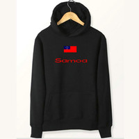 Polartec Windbloc Kaufen -Samoa flag hoodies Nation staubdicht schweißhemden Landvlies kleidung Pullover sweatshirts Outdoor sport mantel Gebürstete jacken