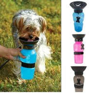 Wholesale Bowl Dog Designs - Portable Outdoor Dog Feeding Water Bottle,Anti-Spill Out Design Sport Pet Water Bottle Travel Dog Drinking Kettle Bowl Pet Supplies