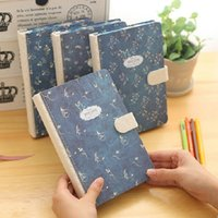 "Wholesale Diary Agenda - ""Blue Bird"" Hard Cover Lined Diary Cute Planner Journal School Study Notebook Memo Agenda Business Notepad Gift"