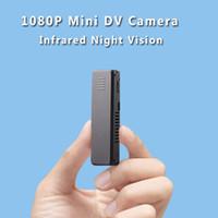Wholesale Micro Camera Hd Night Vision - K5 Mini Camera Full HD 1080P Infrared Night Vision Mini Camera Micro Voice Recorder Digital Audio Video Camcorder DV Camera