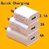 Wholesale tablet 3a online - Fast Charging V A A A US Home Travel wall charger power adapter for iphone Samsung s6 s7 s8 android phone pc tablet