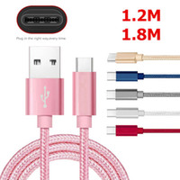Wholesale Galaxy Gray - USB 3.1 Type C Data Braid Fast Charger Charging Cable For Samsung Galaxy S8   S8 Plus DH1700015
