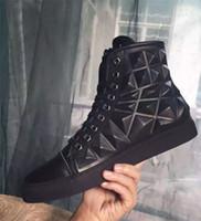 Wholesale korean men fashion black boots - Fashion Famous Brand Fashion Style Korean Version Shoes Men Casual Shoes High Quality Top Brand Designer Flats 3D Men Shoes