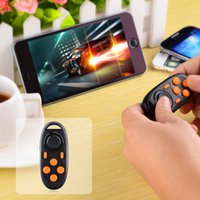 2016 Hot Sale Multi-Functional Bluetooth V3.0 Self-Timer Game Controller para iPhone, Samsung, Sony -Black + Orange