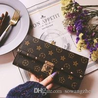 Wholesale Purses Discount - New fashion hot sale Women's Fashion Card Holders Flap long Wallets Female Purses Card Holder Coin Pouch discount free shipping.
