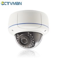 Wholesale Lens Webcam Wifi - HD 1080P Vandalproof IP camera dome wifi wireless security night vision ONVIF ir led 2.8~12mm lens home 2mp suveillance webcam