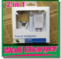 Wholesale Samsunggalaxy Chargers - Micro USB Cable Charger data charger adapter us Plug Wall Charger Adapter For SamsungGalaxy S5 S4 S3 Note2 Android phone OM-D3