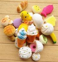 Wholesale Donut Mobile - Wholesal Free Shipping  promotion   Cute cartoon Donut II squishy charm   mobile pendant Strap   Wholesale