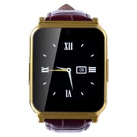 Hot Bluetooth Sport Soporte de tarjeta SIM Smartwatch oro impermeable Smart Watch Phone Mate para Android IOS iPhone HTC Samsung Sony