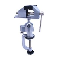 Wholesale Universal Drill Grinder - Multifunctional bracket Universal vise Drill and Grinder bracket Aluminium alloy Table vice 360° rotation Free shipping