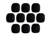 Wholesale microphone cover foam for sale - Group buy 10 Pieces Black Microphone Foam Cover Mic Grill Windshield Windscreen for Handheld Microphone