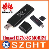 Wholesale Wcdma Usb Modem - Wholesale- unlocked Original Huawei E1750 WCDMA 3G USB Modem