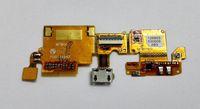 ingrosso trasporto libero della lamierina di zte-Per cavo ZTE Blade V6 v6 Original Micro USB Connettore Microfone FLEX Ribbon Dock FLEX Cable Spedizione gratuita