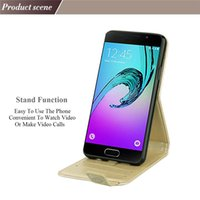 Wholesale Galaxy S3 Silicone Case Flip - For Galaxy S3 S4 S5 S6 S7 S8 Plus Case Luxury Built-in Card Slot Wallet Case Flip Stand Cover Christmas Gift phone case