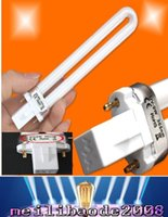 Wholesale New 36w Uv Lamp - NEW 9W UV Replacement Light Bulb Tube for 36w UV Nail Curing Lamp 365nm Dryer Light UV Gel Machine Lamp Light free shipping MYY196