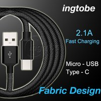 Wholesale Charger Housing - USB Type C Cable USB Type C to Type A Metal Housing Braided Durable Tinning High Charger Micro USB Cable for Android Type-C Devices