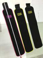 perakende ambalaj toptan satış-3 Renkler 3 Boyutları Tatlı Ter Prim Bel Düzeltici Unisex Kemer Slimmer Perakende Paketi Ile Egzersiz Bel Wrap CCA5627 50 adet