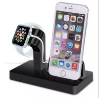 Gros-Noir Blanc Charging Dock station Support Cradle Support Chargeur Support pour Apple iPhone 6S Plus / 6 Plus / 6 / 5S / 5C / 5 Pour je regarde