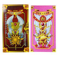 Wholesale Tarot Card Wholesale - Cartoon Sakura Card Captor Tarot Cards Mahou the Clow Anime Cardcaptor Sakura Cards Cosplay Playing Game Prop Cards Magic Card