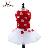 Wholesale Beautiful Princess Costumes - New 2015 High Quality Dog Dress Beautiful Lace Princess Dress For Dog 2015 Summer New Arrival Pets Clothes Lace Dogs Dress HP394