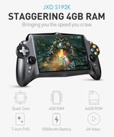 Wholesale Jxd Tv - JXD S192K GamePad Game Tablet PC RK3288 7' Android 5.1 Quad Core Game Handheld Console 4GB 64GB 3D Game Player 1.8GHz EMMC PK Q9