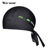 Wholesale Bike Cap Hat Headscarf - Cycling Pirate Caps Perspiration Bandanas Ciclismo Headband Headwear Riding Cycling Bike Bicycle Cap Sports Headscarf Hat