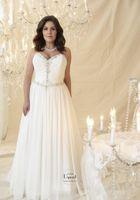 Wholesale Strapless Chiffon Ruching Wedding Dress - 2016 Chiffon Sweetheart Neckline Sequin Beading Ruching Sheath Strapless Bridal Gown Vangogh Cdbg Callist Plus Size Wedding Dresses