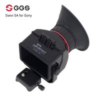 """Wholesale Dslr Viewfinders - GGS Swivi S4 3.0x 3.0"""" 16:9 LCD Camera Viewfinder for Sony a7 a7R a7S NEX-7 NEX-6 NEX-5R NEX-5T A6000 A5000 DSLR view finder"""