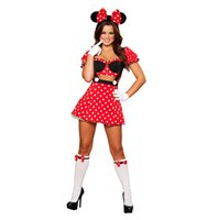 Wholesale Darling Dresses - New Arrival beautiful darling Super Mouse animals adult Halloween costume Sexy fancy dress for women