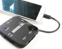 Wholesale Usb External Card Reader - Brand New In Retail Package MicroUSB OTG Card Reader With External Usb 2.0 Hub For Galaxy COMBO S4 i9500,S3 i9300,nexus 7,MX2