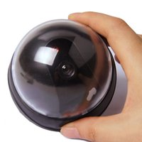 Wholesale dummy domes for sale - Dummy Fake Dome Camera Dome Office Camera with Flashing Red LED Light