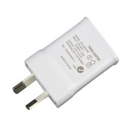 Wholesale Genuine Apple Iphone Wall Charger - Genuine Quality Travel Charger For Samsung Galaxy Note3 N900 S5 w AU Plug 5.3V 2A Home Wall Adapter 200pcs lot DHL free shipping