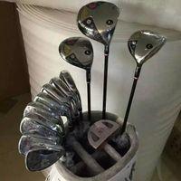Wholesale golf bag cover - man FL Set man FL Women Golf Clubs Driver + Fairway Woods + Irons + Putter Bag L Flex Graphite Shaft With Cover