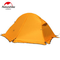 Wholesale Camping Tents Water Proof - Wholesale- Naturehike Cycling Ultralight 1 Person Aluminum Rod Water Proof Climbing Hking Trekking Beach Fishing Outdoor Camping Tent