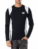 Wholesale Slim Fit Mens Black Cardigan - 2016 NEW Hot Tide Brand Fit Slim Tracksu MENS Sport Tracksuit top quality 100% Cotton Printing PP6254 Men Casual TrackSuits